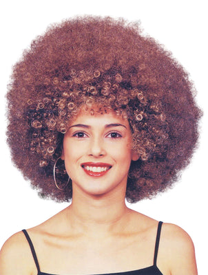 Beyonce Afro. Brown