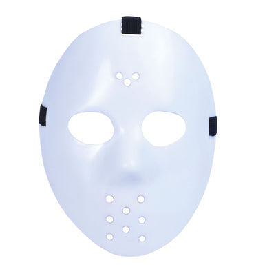 Hockey Mask. White