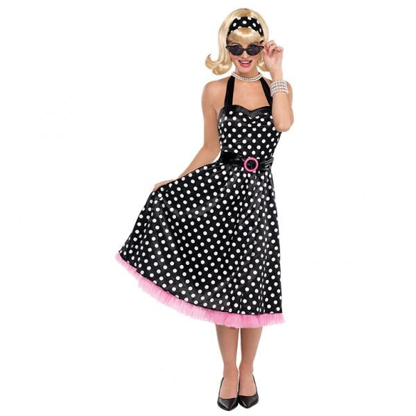 Ladies 50s Twist and Shout Fancy Dress Costume