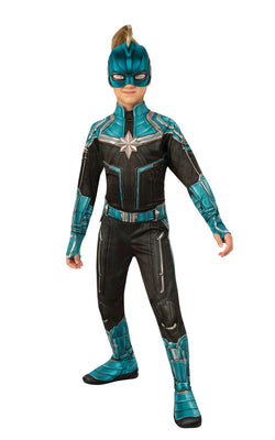 Captain Marvel Kree Girls Costume