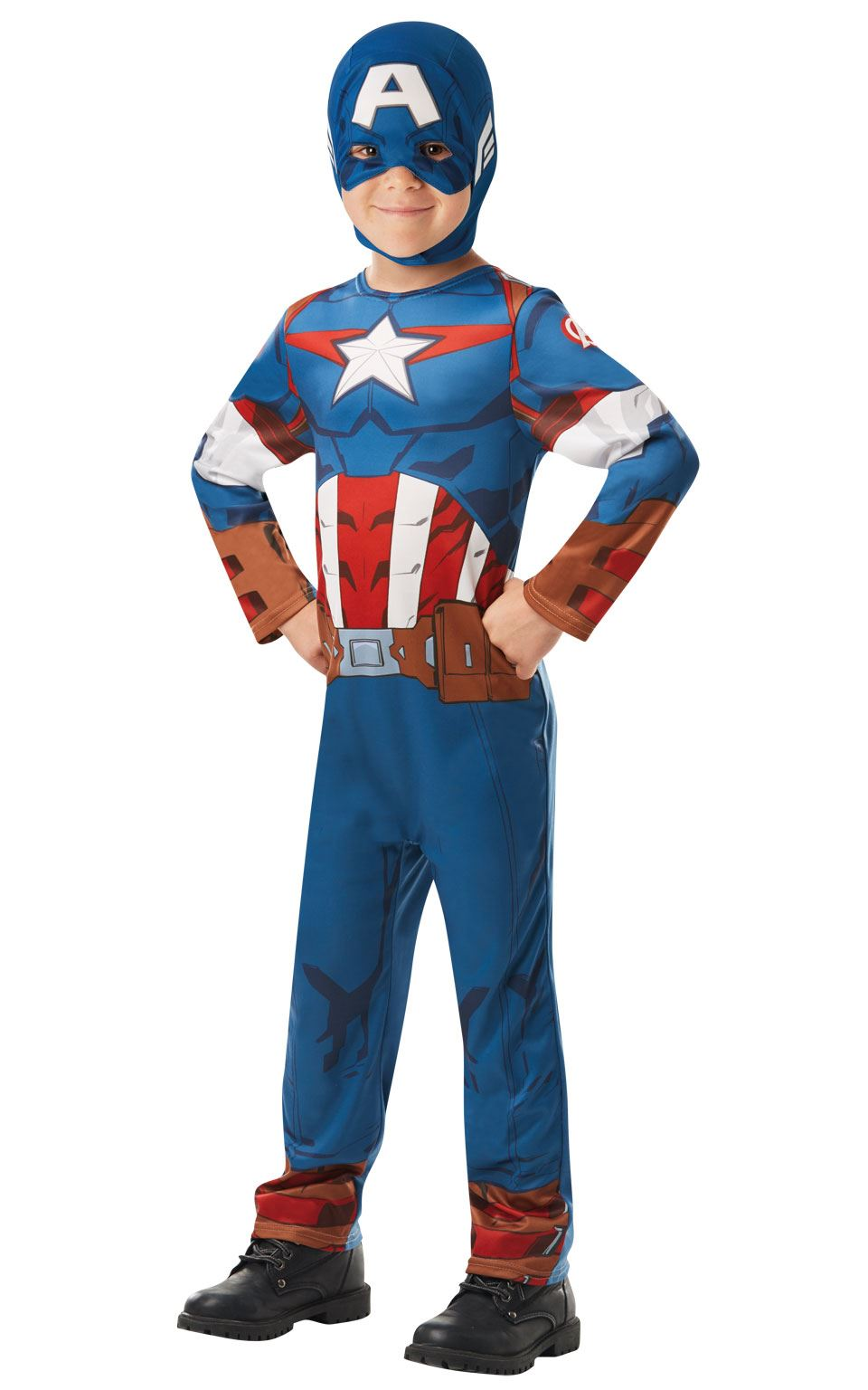 Captain America Marvel  Costume
