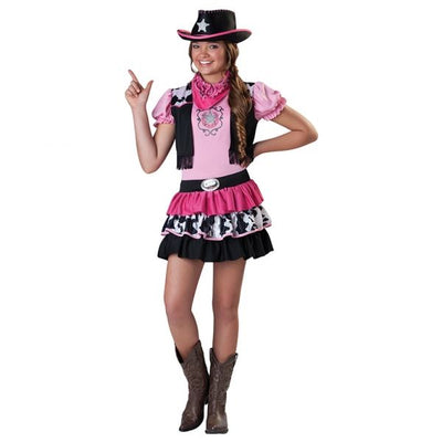Giddy Up Girl Cowboy Fancy Dress Costume