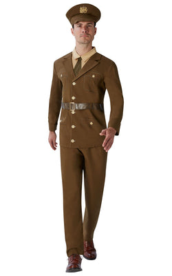 Men's 1910s to 1920s Soldier Fancy Dress Costume