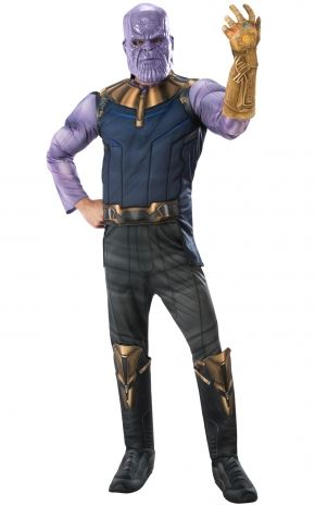 Thanos Avengers Deluxe Men's Fancy Dress