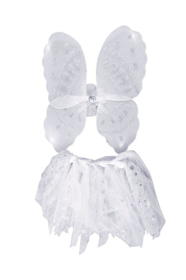 Angel Wings + Tutu Set