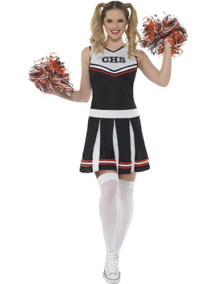 Cheerleader Women's Fancy Dress Costume