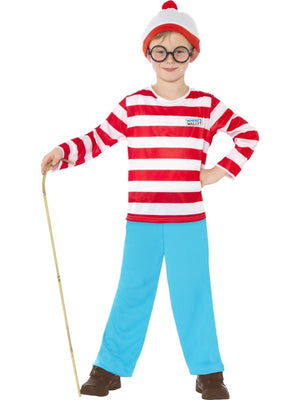 Wheres Wally Child Fancy Dress Costume