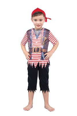 Pirate Boy Sublimation Print Costume