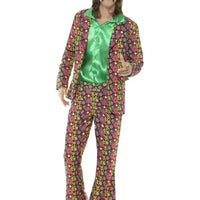 60's Psychedelic CND Suit Men's Fancy Dress Costume