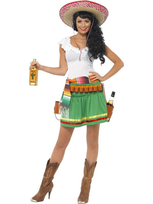 Tequila Shooter Girl Fancy Dress Costume