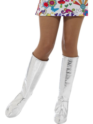 GoGo Boot Covers Silver