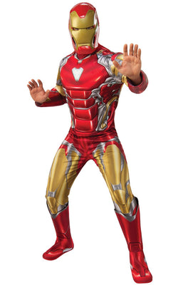 Iron Man Avengers Endgame Marvel DC comic Mens Fancy Dress Costume