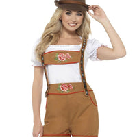 Sexy Bavarian Beer Girl Women's Fancy Dress Costume