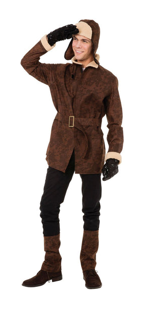 Men's 1910s to 1920s  Pilot Fancy Dress Costume