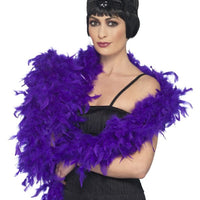 Feather Boa Purple