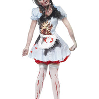 Horror Zombie Dorothy Fancy Dress Costume