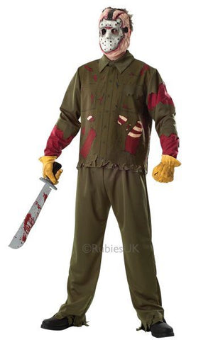 Deluxe Jason Fancy Dress Costume