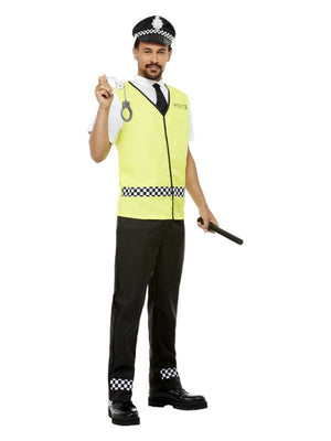 Police Officer Costume, Black