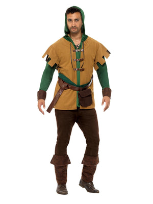 Robin Of The Hood Men's Fancy Dress Costume