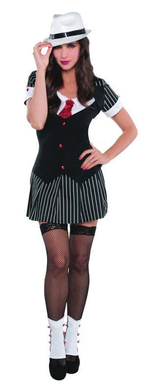 Women's Dressed To Kill Fancy Dress Costume