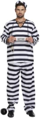 Adult Prisoner Male One Size