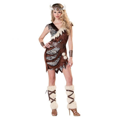 Women's Barbarian Babe Fancy Dress Costume