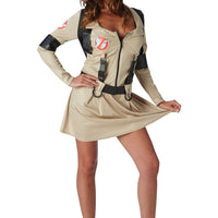 Women's Ghostbuster - Skirt Fancy Dress Costume
