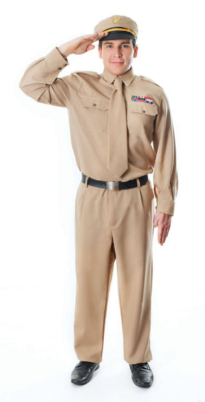 WW2 Army General Men's Costume