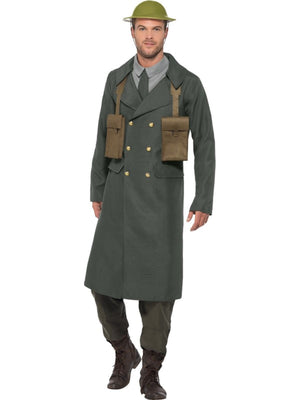 WW2 British Officer Men's Fancy Dress Costume