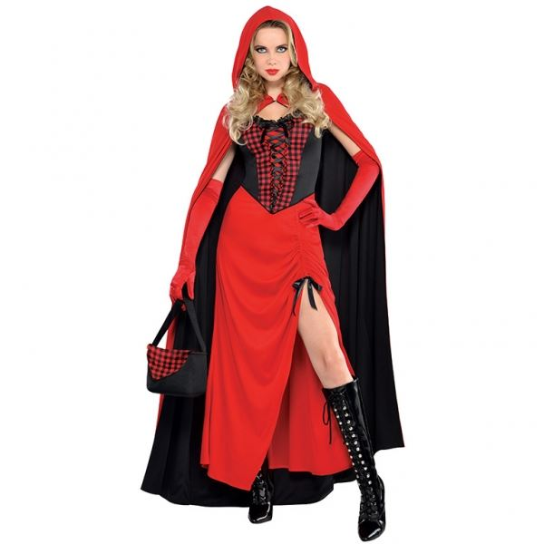 Women's Riding Hood Enchantress Fancy Dress Costume