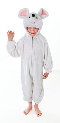 Childs White Mouse Costume