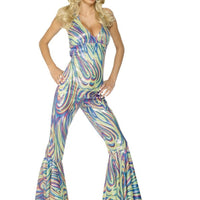 Dancing Queen Catsuit Fancy Dress Costume