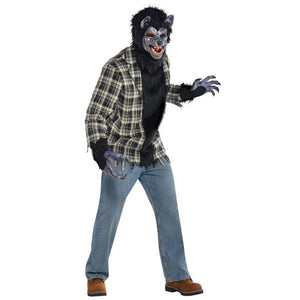 Mens Rabid Werewolf Fancy Dress Costume