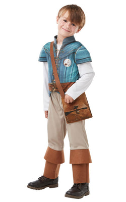 Flynn Rider Disney Boys Rapunzel Fancy Dress Costume Licensed Outfit