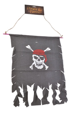 Pirate Banner (Distressed Fabric)