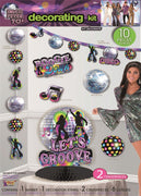 Disco Party Decorating Kit 10pc