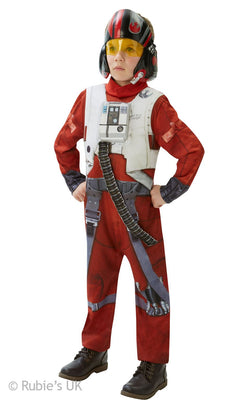 Boys Deluxe Poe x-Wing Fighter Costume