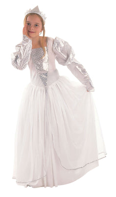 Childs White Princess Costume