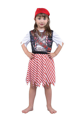 Pirate Girl Sublimation Print Costume