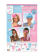 Gender Reveal Photo Booth Set