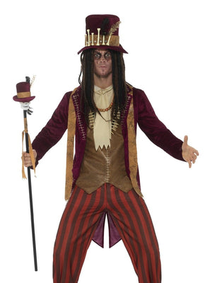 Deluxe Voodoo Witch Doctor Men's Fancy Dress Costume