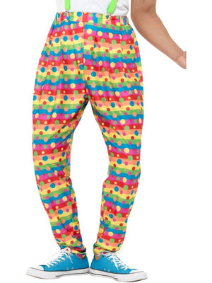 Clown Trousers Fancy Dress