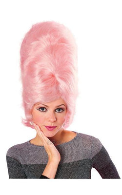 BeeHive Fancy Dress Wig Pink