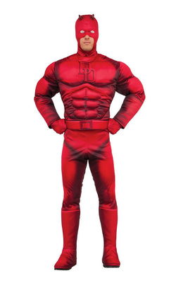 Daredevil Marvel DC Comics Mens Fancy Dress Costume Licensed Outfit