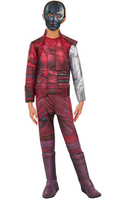 Nebula Engame Avengers 4Marvel DC comics Fancy Dress Boys Costume
