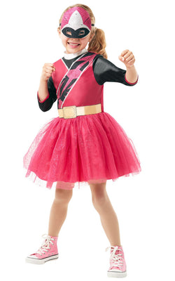Power Ranger Ninja Steel Pink Girl's Costume