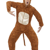 Monkey Fancy Dress Costume Adult
