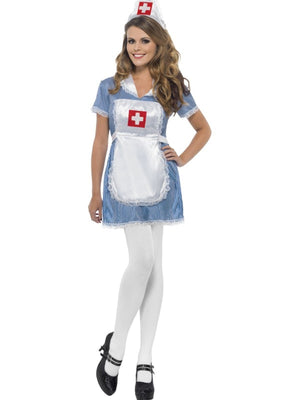 Sexy Nurse Fancy Dress Costume
