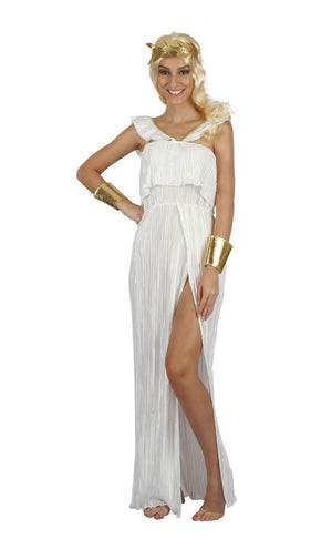 Goddess Pleated Women's Costume