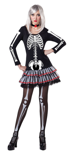 Skeleton Maiden Women's Costume